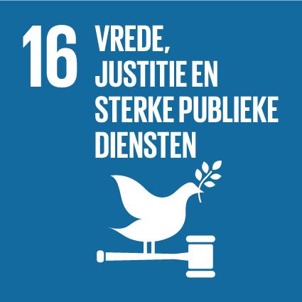 SDG 16 | Vrede, Justitie en Sterke Publieke Diensten